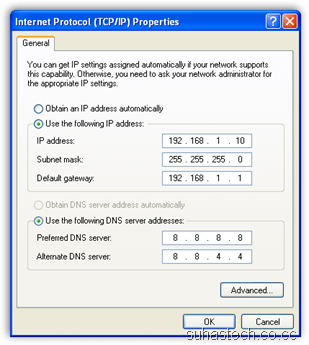TCP IP Properties