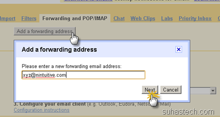 add-forwarding-email