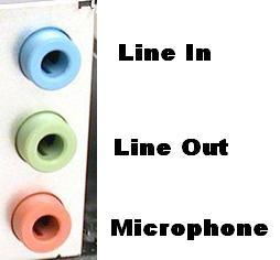 Audio Line-Out Port
