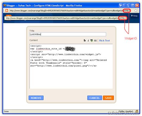widgetcode