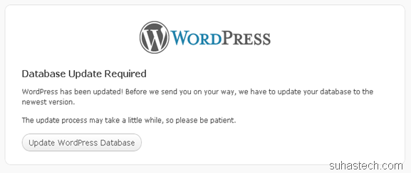 wordpress-database-update
